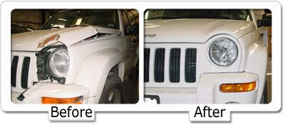 Minor Collision Repair at Cox Collision & Paint