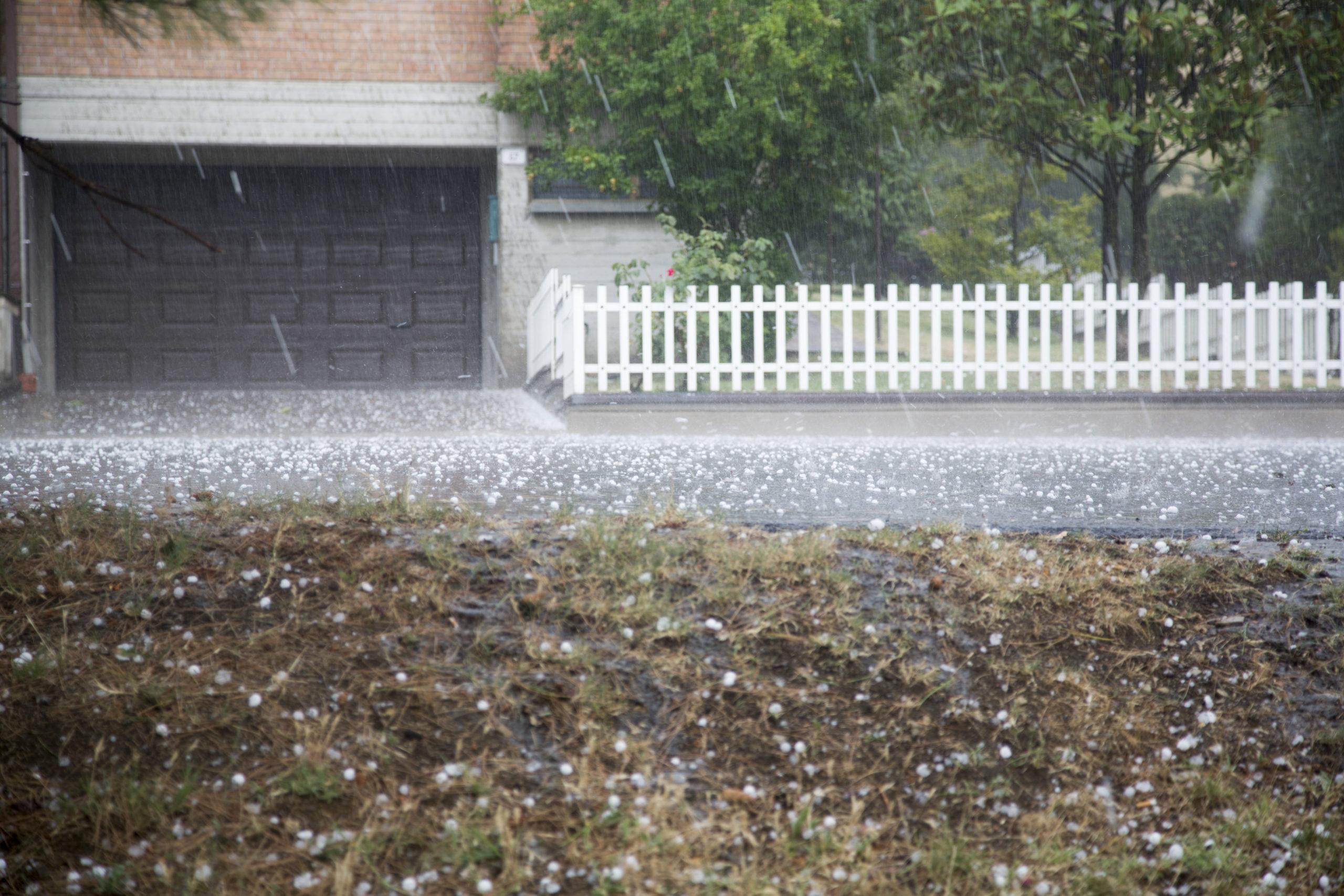 Hail Damage Repair Cox Collision